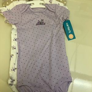 12mos 5 Pack Wiggle In Bodysuits Exp Neck NWT